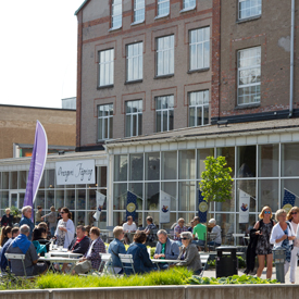 Rörstrand Center / Kaffekalaset 4 juni 2016