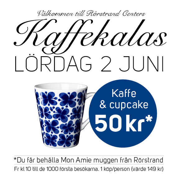 Kaffekalaset på Rörstrand Center