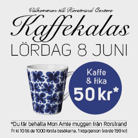 Evenemang Rörstrand Center Kaffekalas